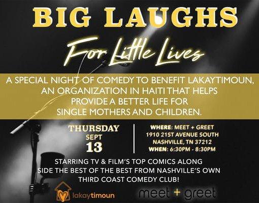Big Laughs for Little Lives