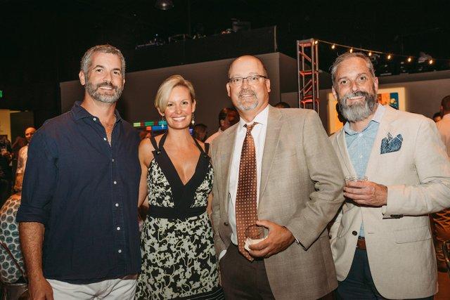 Jim & Rahel Sloan, Jim Rieniets, Scott Gupton.jpg
