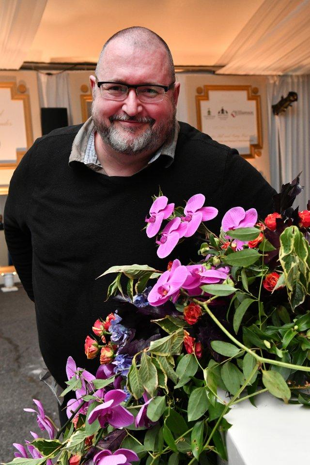 Floral designer Steve McLellan of Garden Delights.JPG