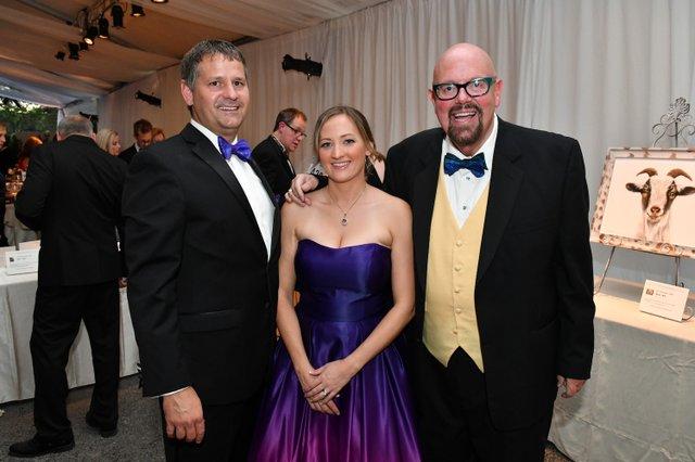 Justin and Olivia Stelter, Robert Hicks.JPG