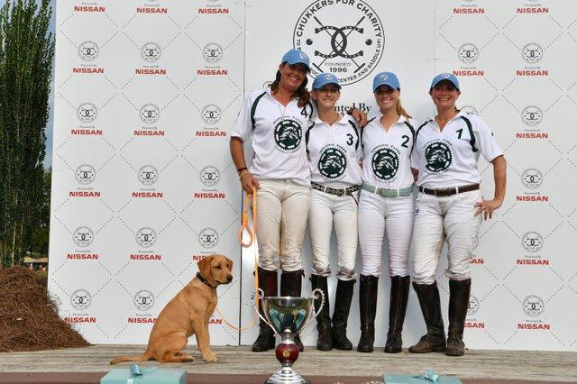 Ironhorse Farms team Gillian Johnston, Hope Arellano, Virginia Ingram and Martha Bennett.JPG
