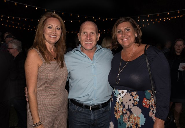 Bootlegger's Bash co-chairs Bess and Tim Kearns and Leigh Bawcom.jpg