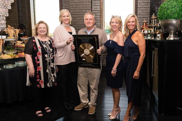 Nashville-Wine-Auction CEO Holly Whaley, Sponsors Libba & Edwin Vickery, Cochairs Christie Wilson & Rahel Klapheke Sloan .jpg