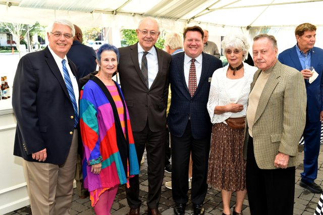 Mayor Rogers Anderson, Emily Magid, Mayor Ken Moore, David Garrett, Marilyn and Calvin LeHew2.JPG