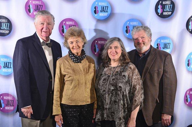 John and Libby Hagewood, Drs. Gary Smith and Ann Evers.jpg