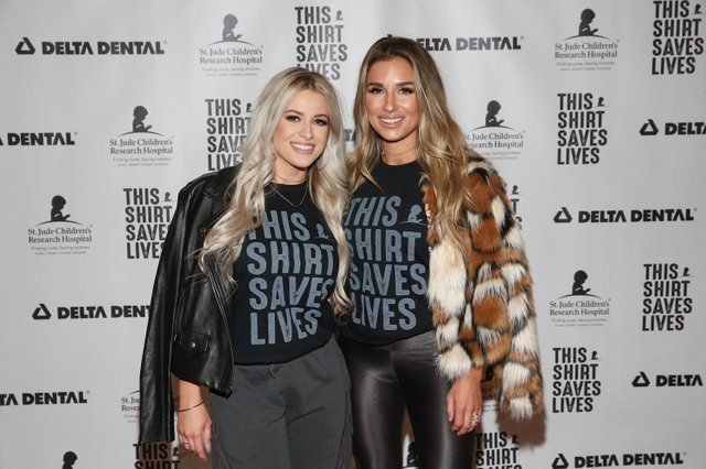 Jessie James Decker and Ali Green on the This Show Saves Lives Red Carpet.jpg