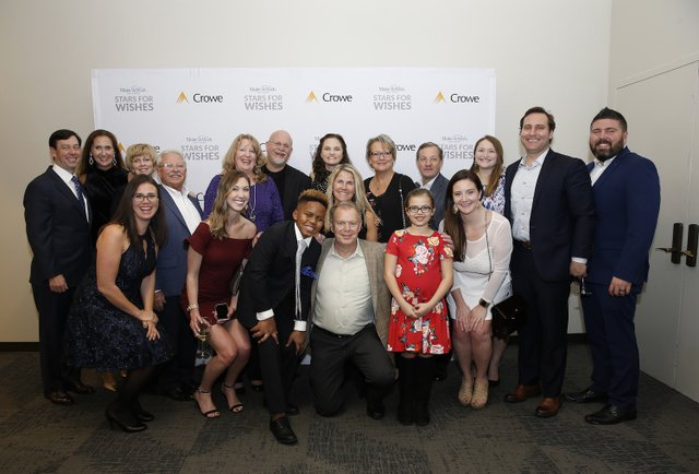 Crowe Employees with wish kids.JPG