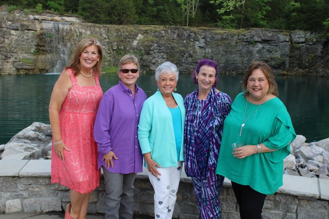 Laura Zeitlin, Lesa and Jane Hay, Emily Magid and Trish Stiles.JPG