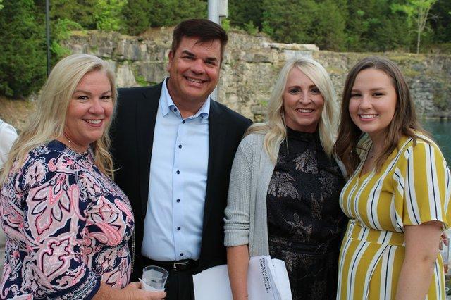 Marcia Blumb, Tad and Martha Jenkins, Olivia Blumb.JPG
