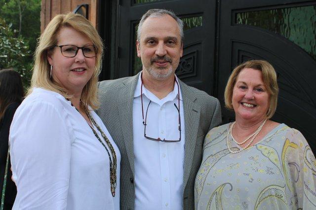 Margaret and Dave Mahew, Nancy Sargent.JPG