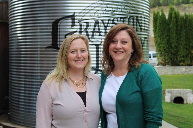 Melissa Wilson and Kelley Weninger.JPG