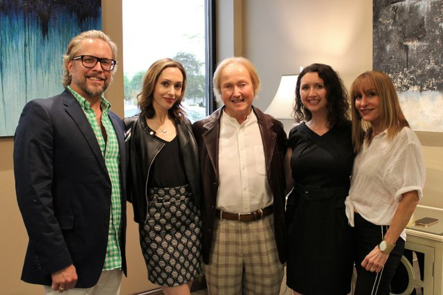 John Grimes, Alexa and Larry Lipman, Sutton Lipman Costanza and Stacey Rhodes.JPG