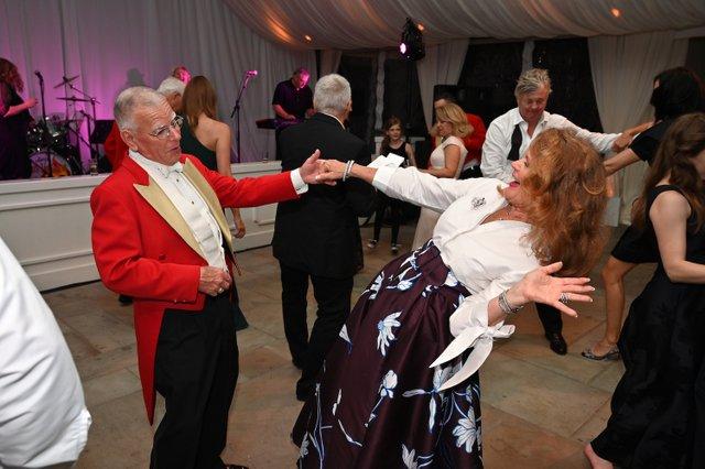 Charles and Dana Burke dance the night away to Soul Incision.JPG