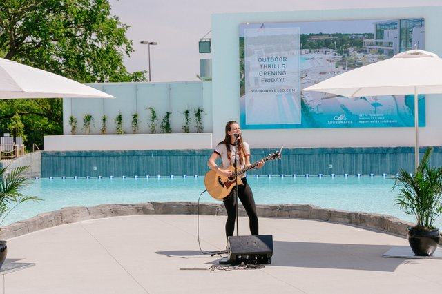 SoundWaves Outdoor Ribbon Cutting Ceremony, live performance by Maggie Baugh.jpg