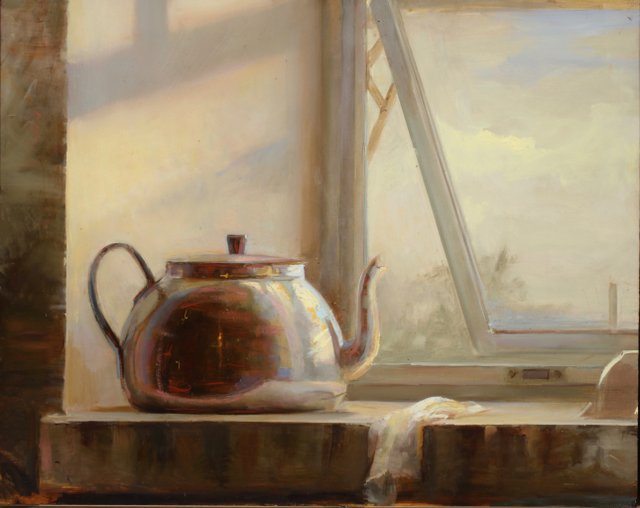 Aristides-The teapot- oil on panel-2018 16x20 (1).jpeg
