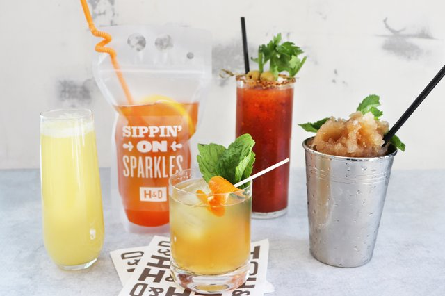 Boozy Bourbon Slush, Feelin' Fizzy, H&D Bloody Mary, Whiskey Hummingbird.JPG.jpg