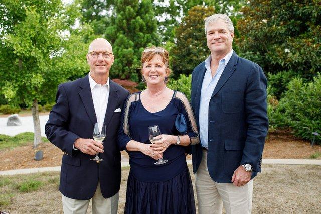 David Kazmerowski and Barbara Browning, Steve Burch.jpg