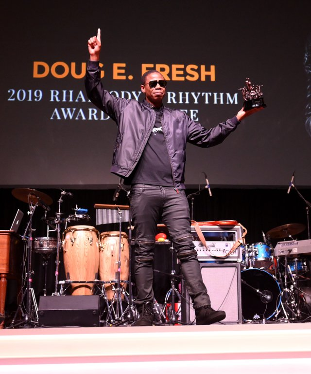 Doug E. Fresh attends The Celebration of Legends Gala 2019 at Music City Center on June 27 2019 in Nashville Tennessee. (Photo by Jason Kempin Getty Images).JPG