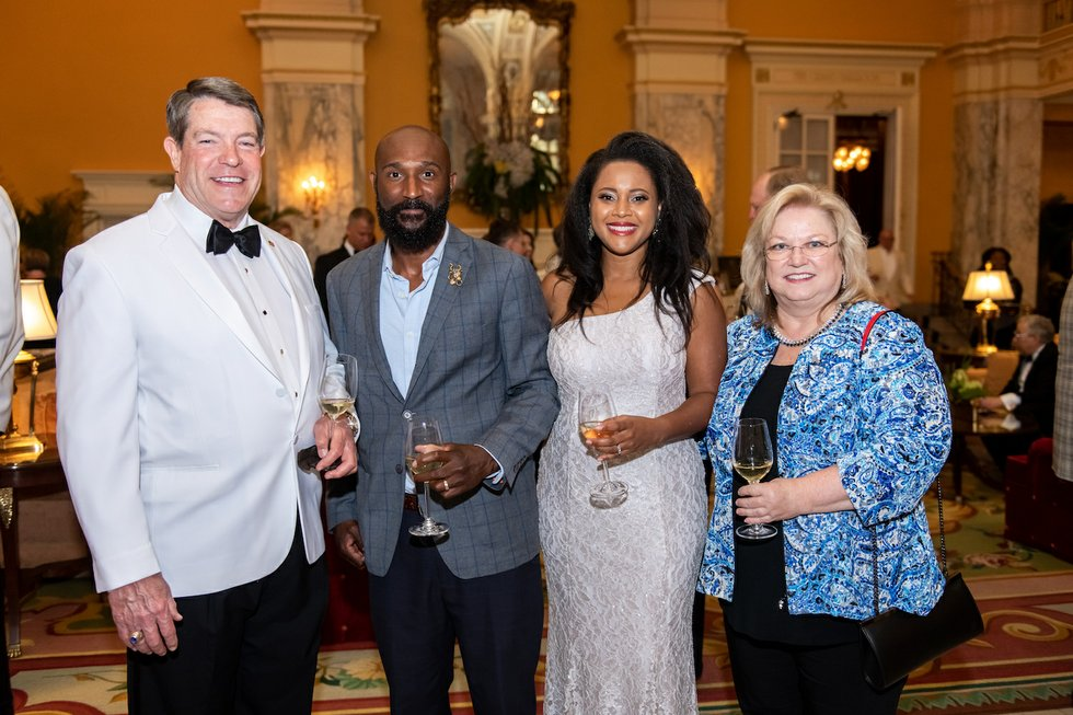Bill Piper; Xavier and Kristen Darden, Holly Whaley.jpg