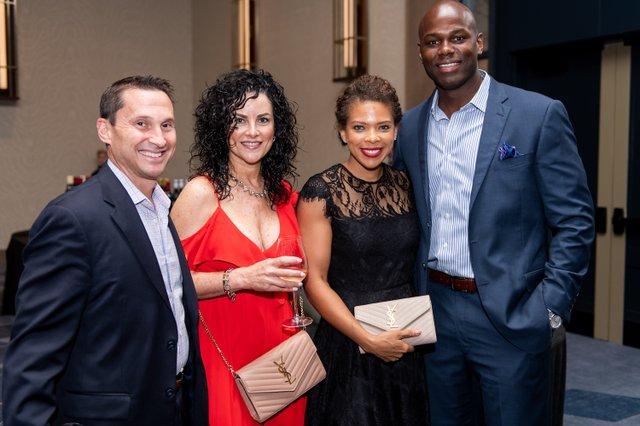 Brian and Robin Murray; Kayla and Deo Sanders.jpg