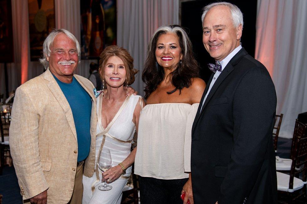 Burton Elrod; Rae Carol Yarborough; Ellen Musick; Gary Musick.jpg