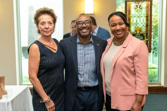 Vickie Ziegler, William Robinson, Yolonda Brooks Robinson.jpg