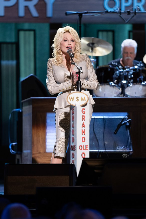 Dolly Parton Celebrates 50 Years with The Opry