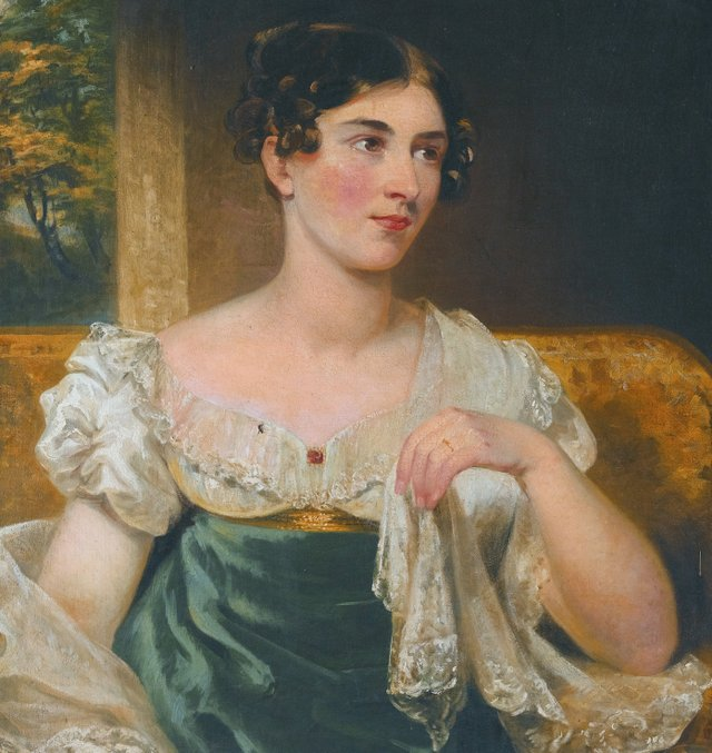 The Irish actress Harriett Constance Smithson (1800-1854), by George Clint