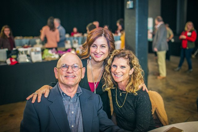 Bud Zegel, HisWay Painting and Advisory Board, Renee Rizzo, CEO, Eileen Zegel.jpg