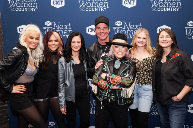 2. Walker County, Leslie Fram, Dennis Quaid, Tanya Tucker, Hailey Whitters, Erin Enderlin_CMT NWOC Kickoff Party, 1.12.20 copy.jpg