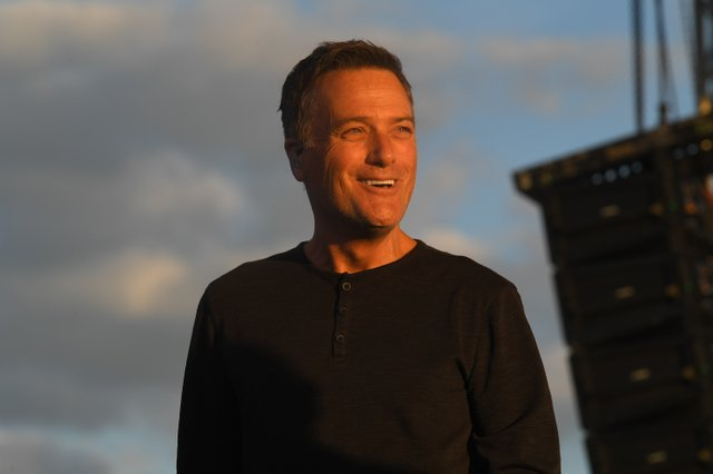 4 Michael W. Smith performs at his drive-in concert in Franklin, TN on May 30, 2020.JPG