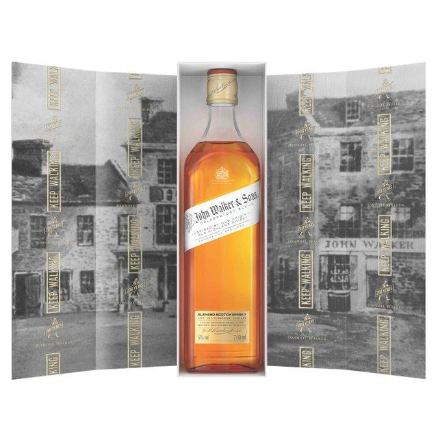 John Walker & Sons Celebratory Blend with Open Pack.jpg