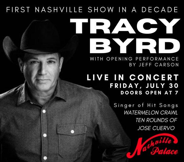 Nashville Palace - Tracy Byrd Foam Sign.jpg