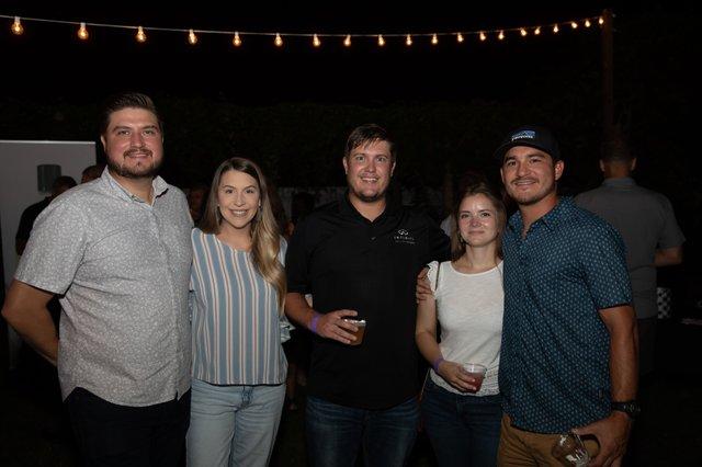 Josh and Hilary Woodard, Justin Pack, Kathryn O'Regan and Tyler Slater.jpg