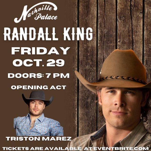 Nashville Palace - Randall King Concert - SM - 5