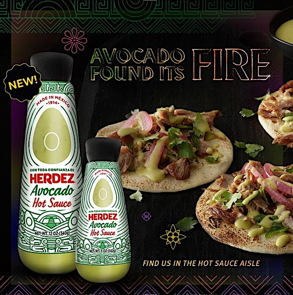 HERDEZ Avocado Hot Sauce Found It's Fire.PNG